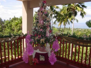 Decorating with Pink at Christmas